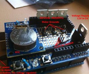 DIY Arduino Controlled Dosing Pumps