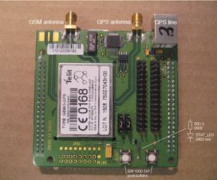 使用Telit GE863(GSM-GPRS模块)