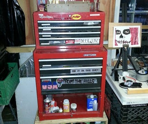From Tool Box to Art Cart