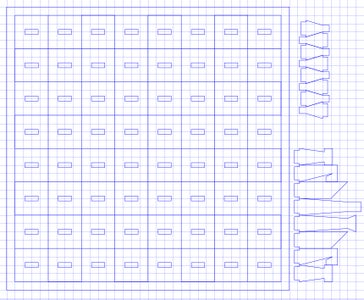 Create Template for Laser Cutting