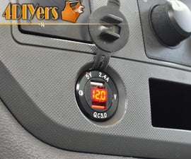 How to Replace a 12v Cigarette Lighter Socket With a USB Charger Port and Voltmeter