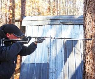 DIY Airgun Out of Blowgun (not PVC)