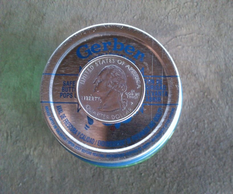 Copper Plating a Quarter Without Electricity