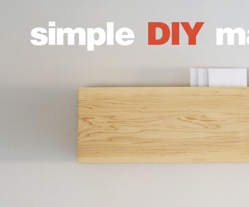 Simple DIY Mailbox