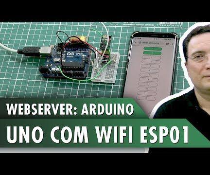 WebServer: Arduino UNO With WiFi ESP01