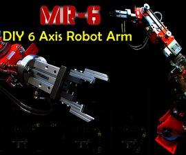 DIY Robot Arm 6 Axis (with Stepper Motors)