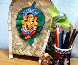 DIY Handmade Ganesha Wall Hanging