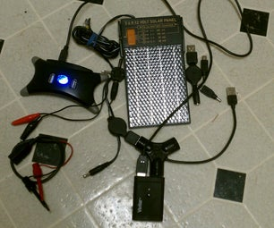 Charging Multi-volatage Devices While Camping With Solar Panel