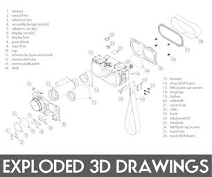 轻松爆炸的3D图纸