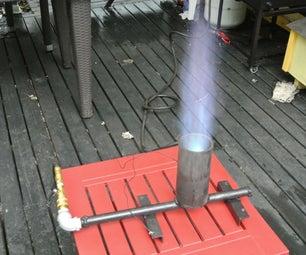 建造丙烷喷气机 - 酿造,海鲜,锅炉