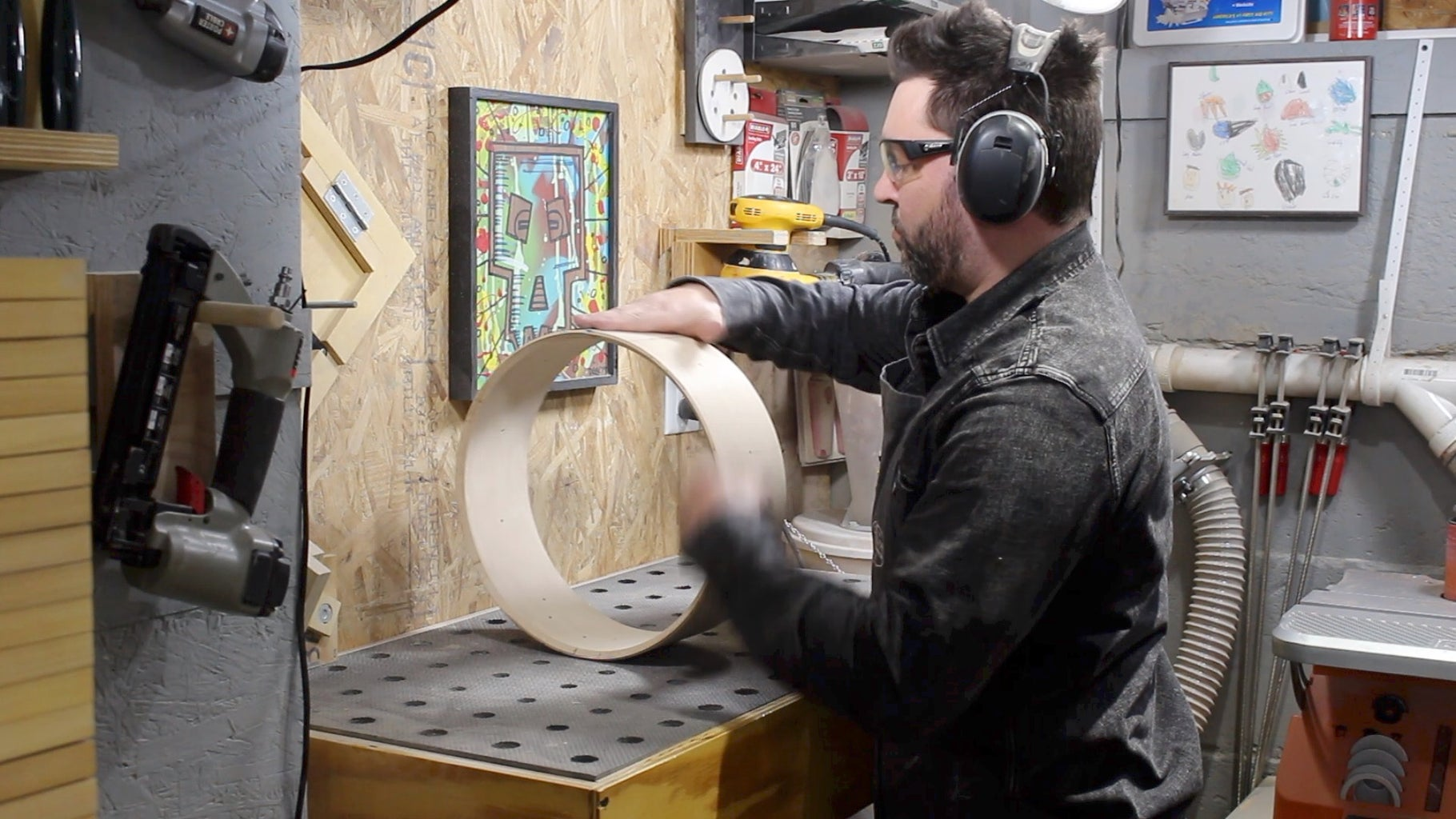 Snare Beds and Sanding