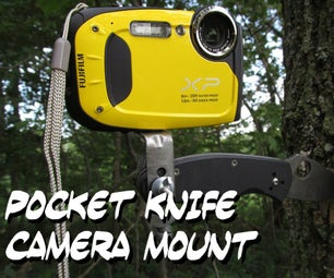 Pocket Knife Camera Mount