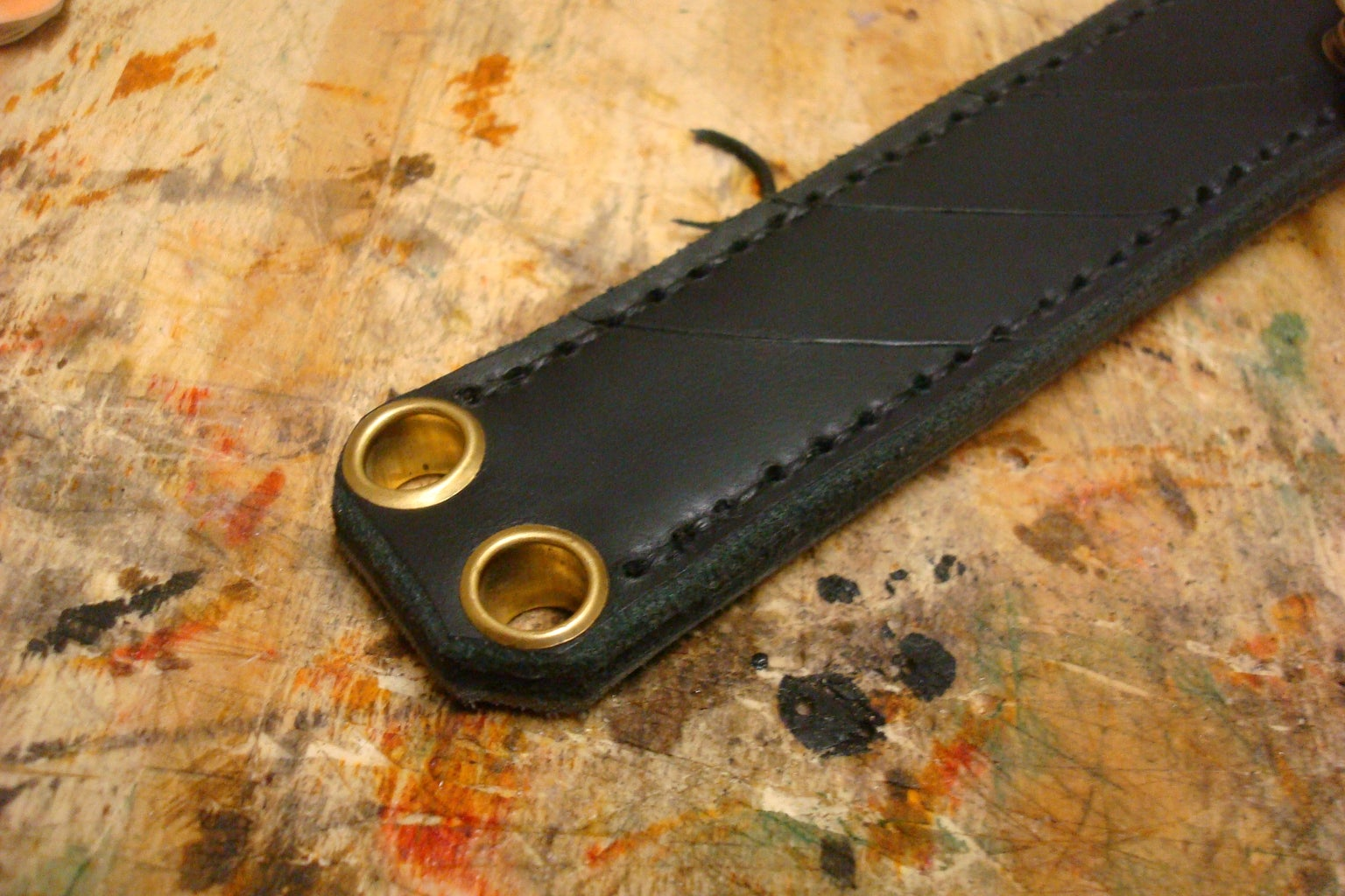 Copper Eyelets for Leather Working