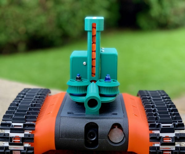 Nerf Dart Launcher for the FPV-Rover and FPV-Trike