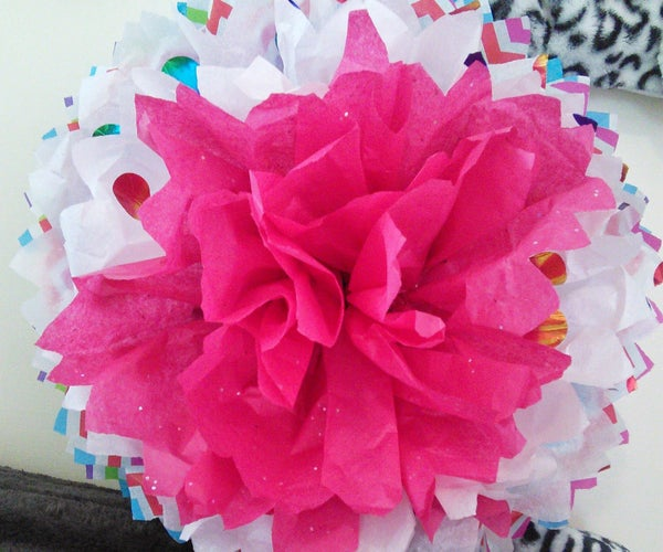 Inexpensive Flower Wall Art in Minutes .