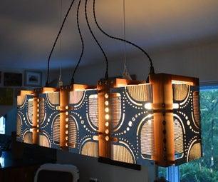 Art Deco Dining Room Light Fixture