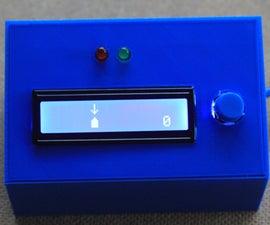 Press(Button); //An Arduino LCD Game