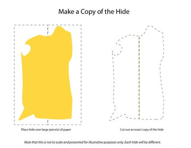 Make a Paper Copy of Your Cowhide