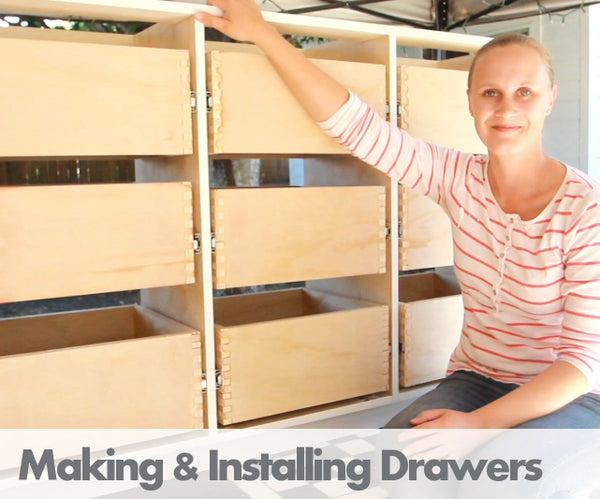 Making Drawers With Box Joints on the Table Saw