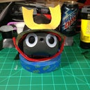 Making a Japanese Kabuto (兜, 冑) Helmet using Worbla Thermoplastic.