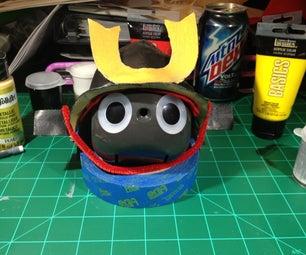 Making a Japanese Kabuto (兜, 冑) Helmet Using Worbla Thermoplastic.