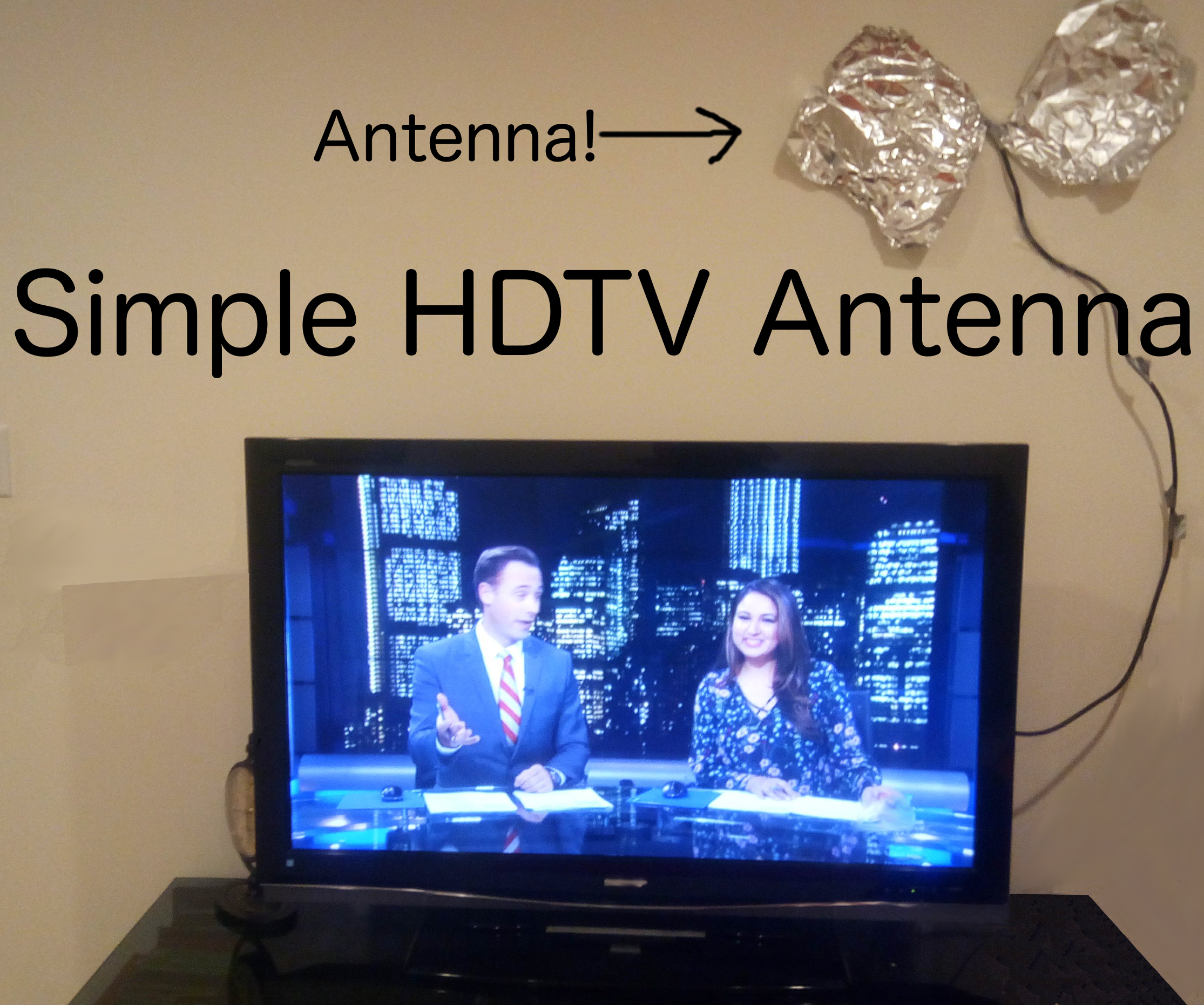 Simple HDTV Antenna!