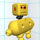 TOY- Instructables robot in Tinkerplay