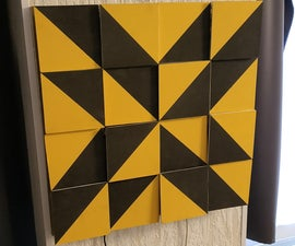 Half Square Triangles Kinetic Art