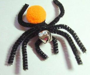 How to Make a Pom-Pom Spider