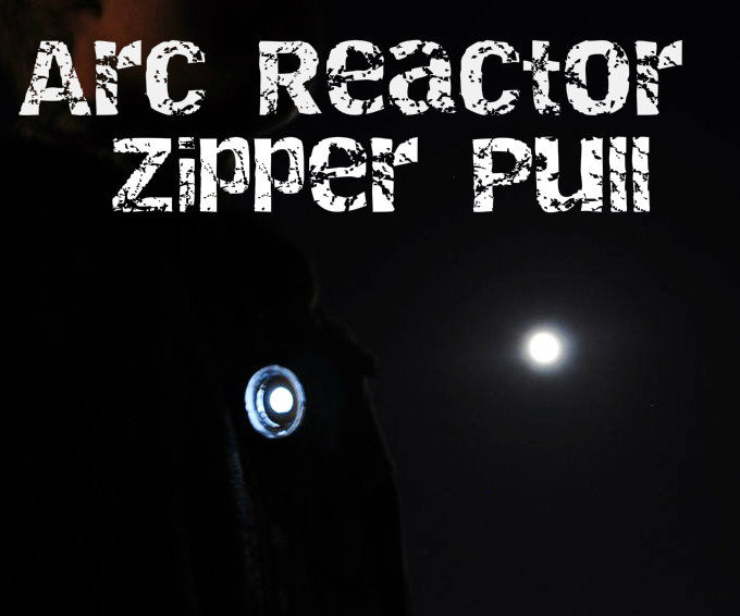 How to Make an Arc Reactor Zipper Pull