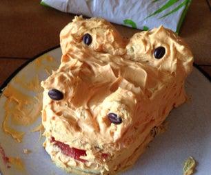 Halloween Dragon Cake