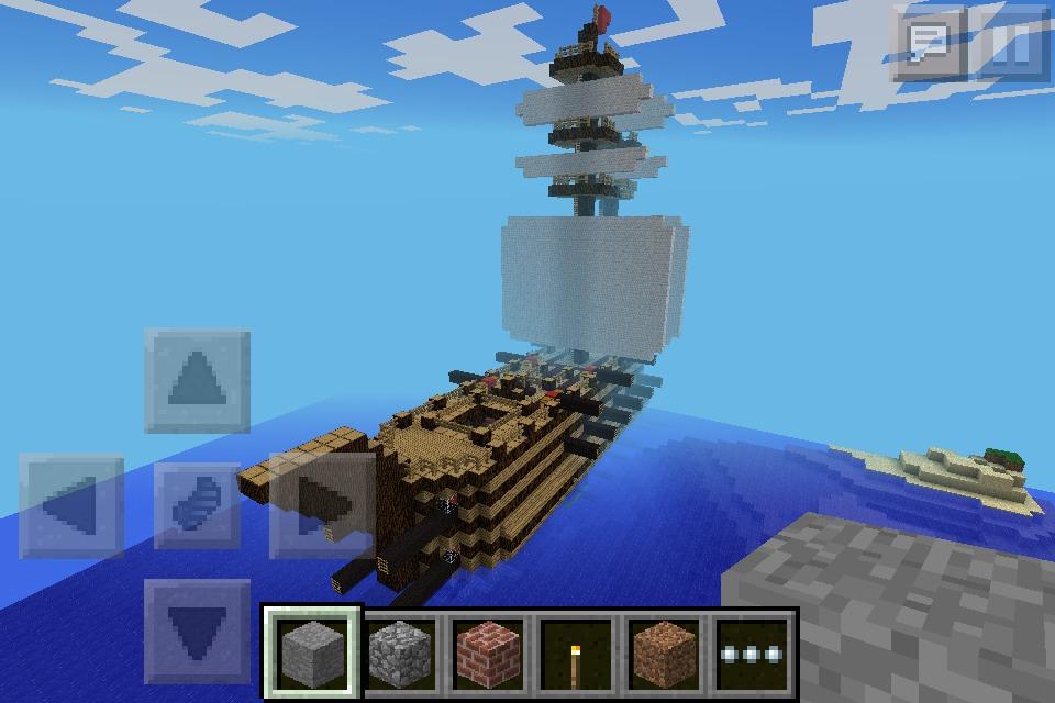 Minecraft super Besieger Battleship