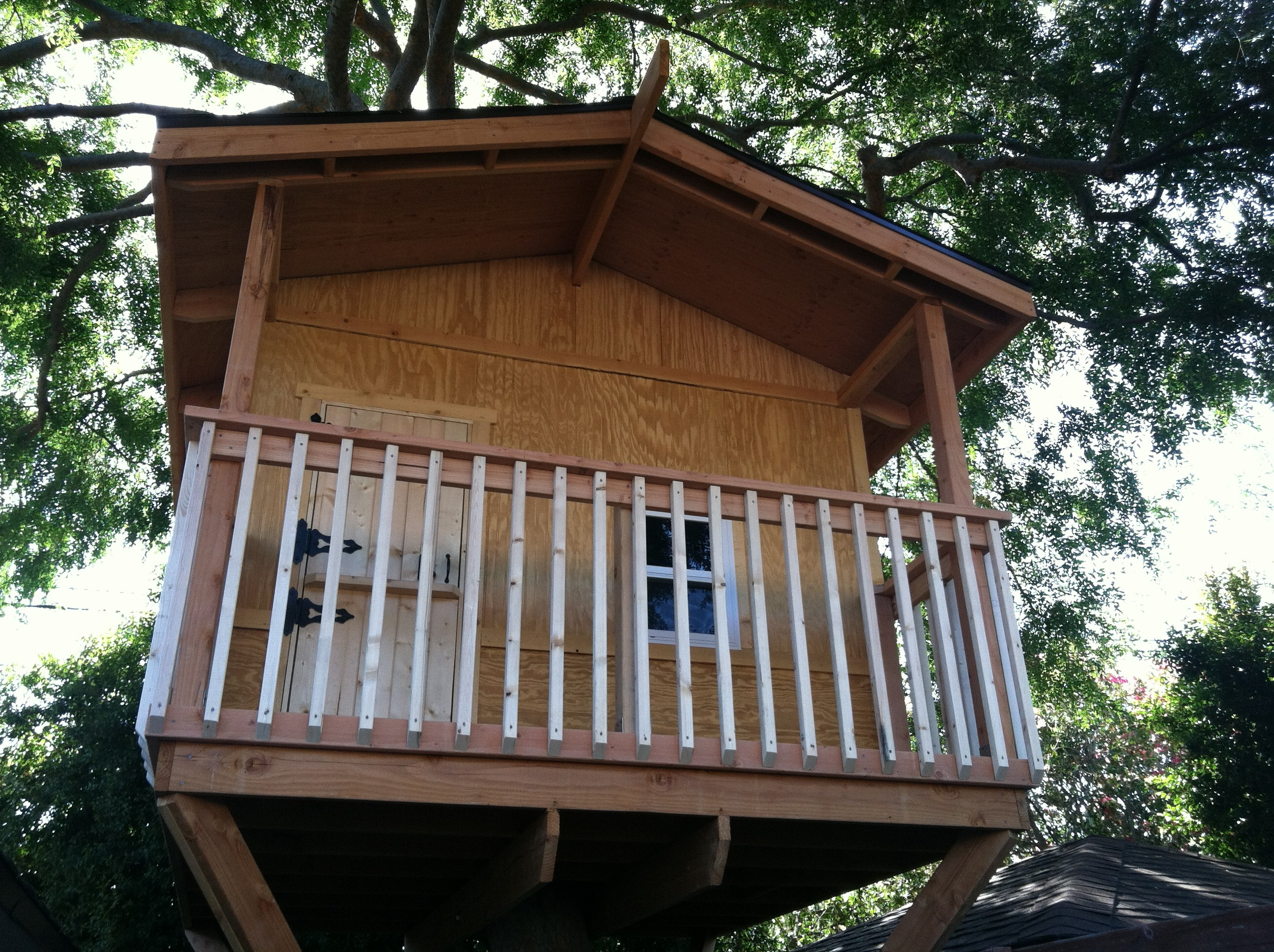 Picture of: Building A Treehouse 8 Steps With Pictures Instructables