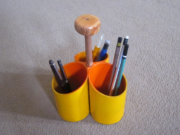 How to Make a Portable Container (pencil Holder)