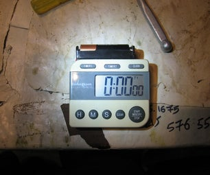 Run Your Kitchen Timer on a More Common Battery