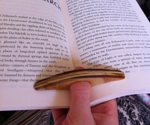Wooden Book Thing