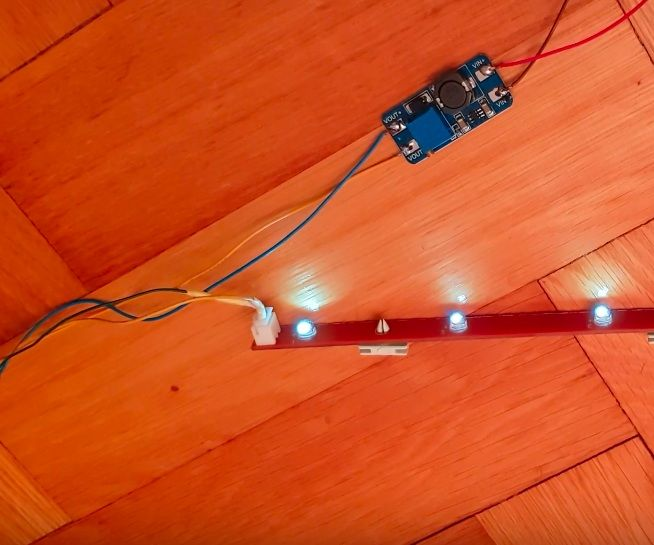 Solar Lighting System Without Batteries