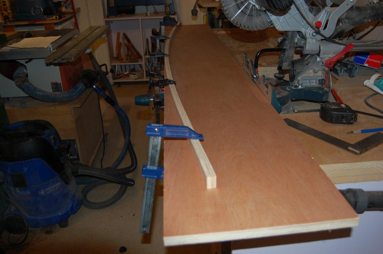 Cutting Shelf Outlines