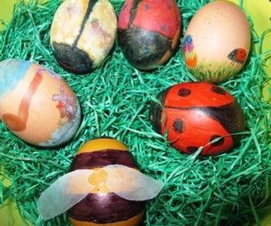 Easter Eggs Coloring Fun