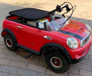 动力轮的汽油发动机