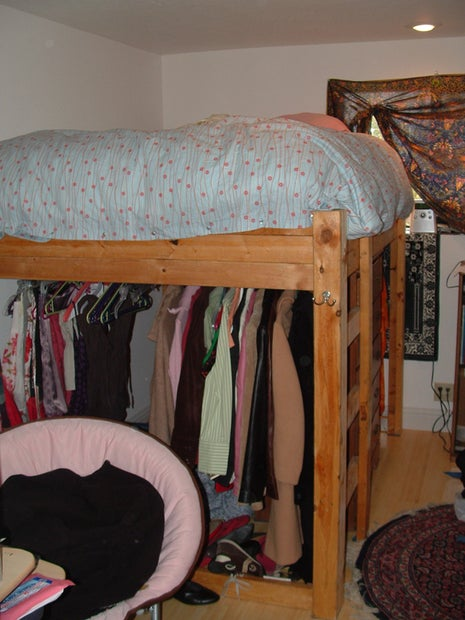 Loft Bed 8 Steps With Pictures, How To Build A Queen Size Bunk Bed
