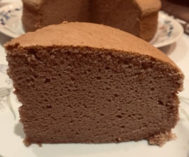 Cappuccino Chiffon Cheesecake