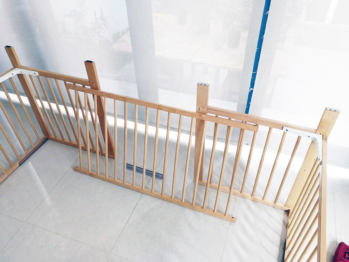 Assemble 3 Sides of the Playpen