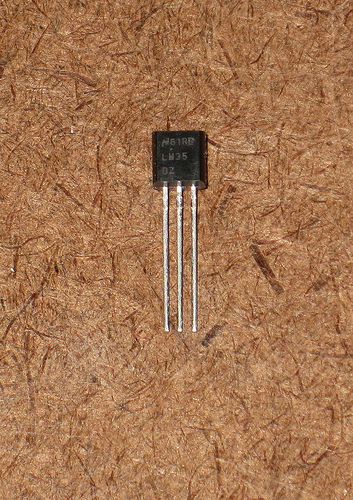 Waterproof a LM35 Temperature Sensor