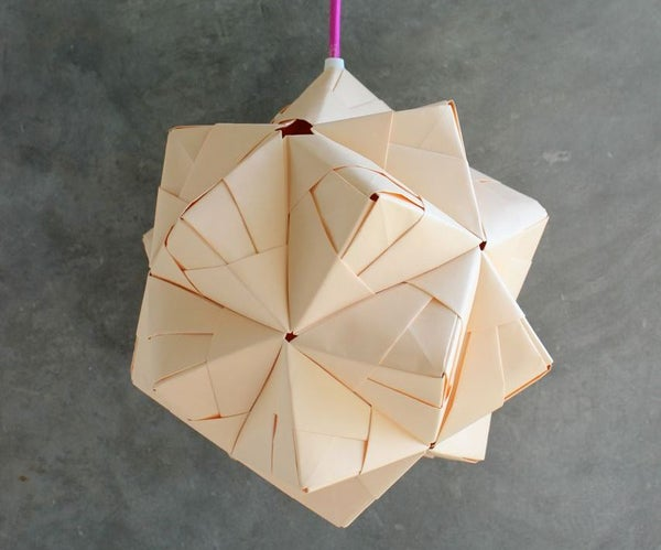 DIY Sonobe Ball Lamp