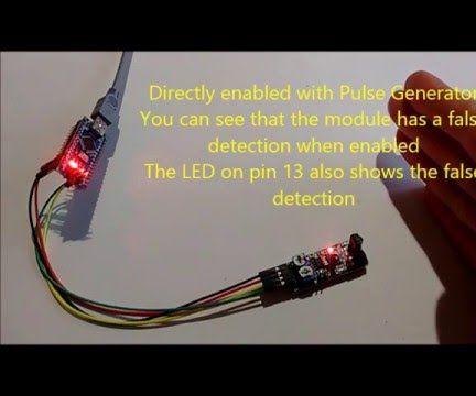 Arduino Nano: Infrared Obstacle Avoidance Sensor with Visuino