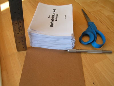 Cut Pages and Back
