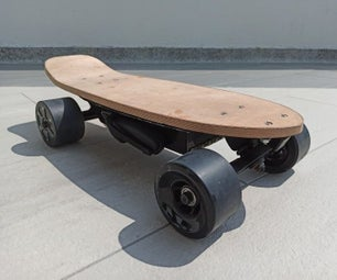 DIY Short Electric Skateboard