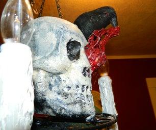Macabre Halloween Chandelier