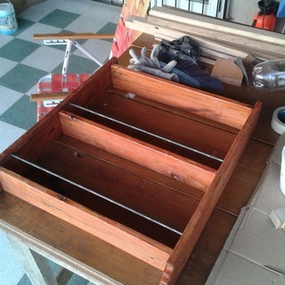 Over-The-Toilet Wood Shelf